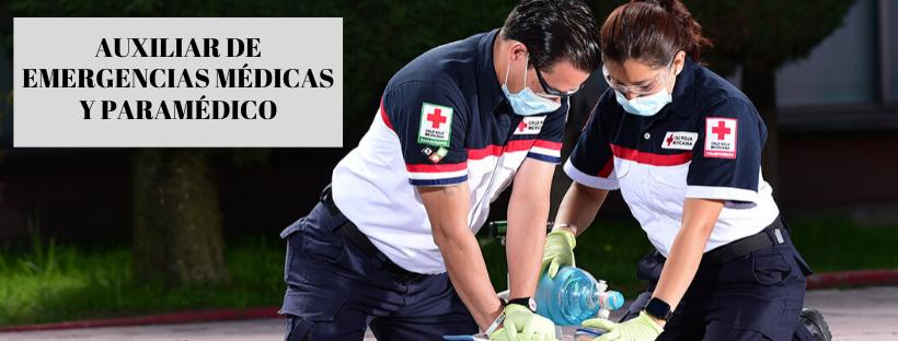 AUXILIAR DE EMERGENCIAS MÉDICAS Y PARAMÉDICO